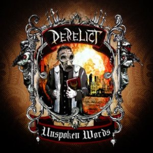 Derelict - Unspoken Words cover art