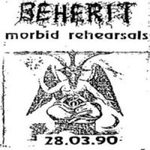 Beherit - Morbid Rehearsals cover art