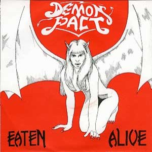 Demon Pact - Eaten Alive cover art