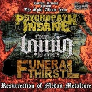 Funeral Thirst - Resurrection of Medan Metalcore cover art