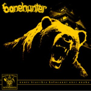 Bonehunter - Sonic Diarrhea Holocaust over Osaka cover art