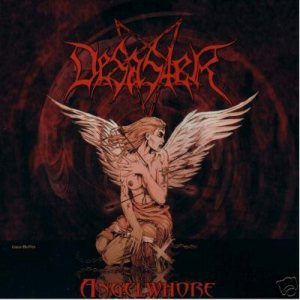 Desaster - Angelwhore cover art