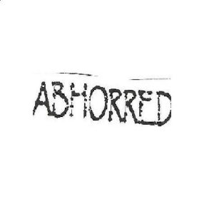 Abhorred - Abhorred cover art
