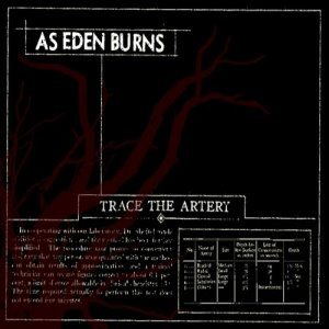 As Eden Burns - Trace the Artery cover art