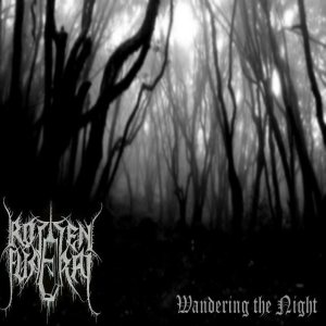 Rotten Funeral - Wandering the Night cover art
