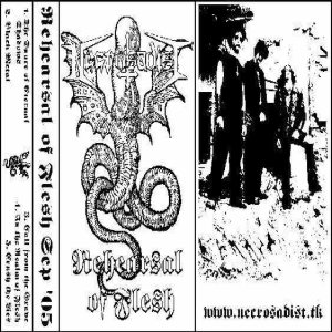 Necrosadist - Rehearsal of Flesh cover art