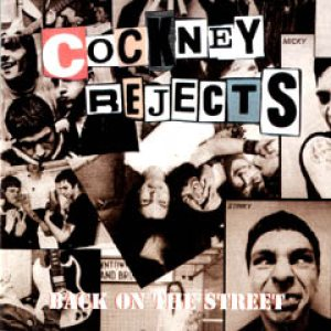 Cockney Rejects - Back on the Street cover art