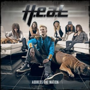 H.E.A.T - Address the Nation cover art