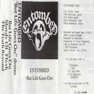 Entombed - But Life Goes On cover art