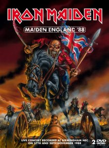 Iron Maiden - Maiden England '88 cover art
