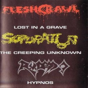 Supuration - Lost in a Grave / the Creeping Unknown / Hypnos cover art