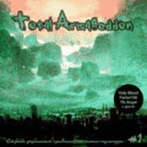 Holy Blood - Total Armageddon cover art