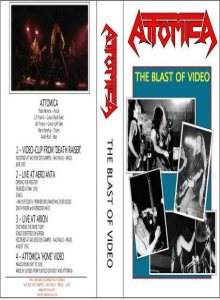 Atomica - The Blast of Video cover art