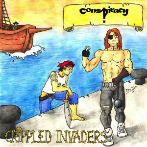 Conspiracy - Crippled Invaders cover art