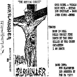 Nunslaughter - Rotting Christ cover art