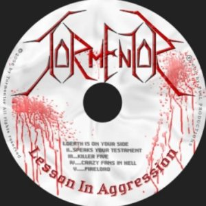 Tormentor - Lesson in Aggression cover art