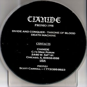 Cianide - Promo 1998 cover art