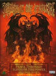Cradle of Filth - Peace Through Superior Firepower cover art