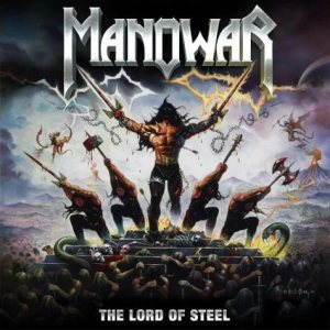 Manowar - The Lord of Steel cover art
