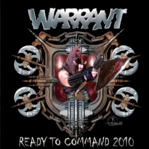 Warrant - Ready to Command 2010 cover art
