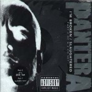 Pantera - I'm Broken/Slaughtered part 2 cover art