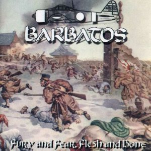 Barbatos - Fury and Fear, Flesh and Bone cover art