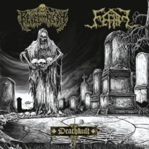 Revel in Flesh / Feral - The Deathkult EP cover art