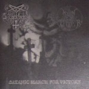 Silberbach / Moontower - Satanic March for Victory cover art