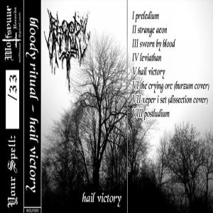 Bloody Ritual - Hail Victory cover art