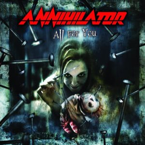 Annihilator - All for You cover art