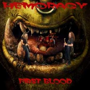 Hemoragy - First Blood cover art