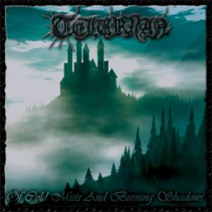Tellurian - Of Cold Mists and Burning Shadows cover art