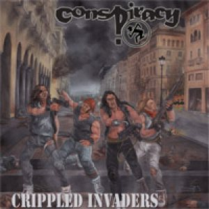 Conspiracy - Crippled Invaders MCD cover art