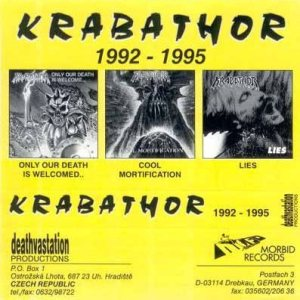 Krabathor - 1992-1995 cover art