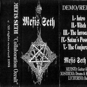Mefis Seth - Collaboration Occult cover art