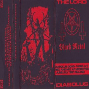The Lord Diabolus - Down There... cover art