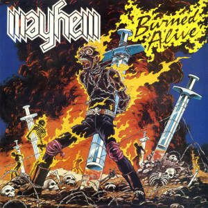 Mayhem - Burned Alive cover art