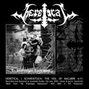 Heretical - Schweißtuch - the Veil of Macabre cover art