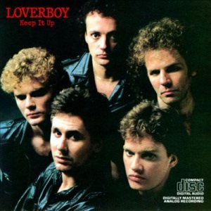 Loverboy - Keep It Up cover art