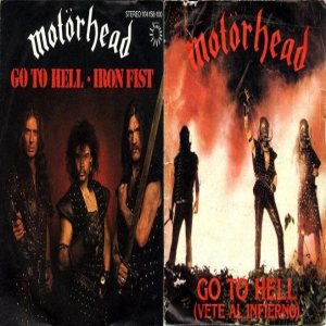 Motorhead - Go to Hell cover art