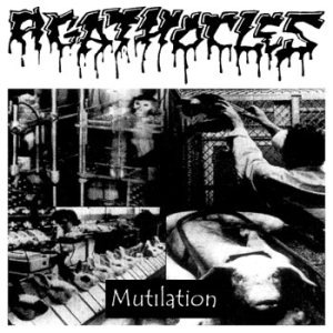 Agathocles - Mutilation / Split with Din-Addict cover art