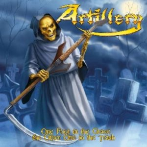 Artillery - One Foot in the Grave, the Other One in the Trash cover art