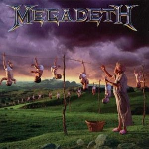 Megadeth - Youthanasia cover art