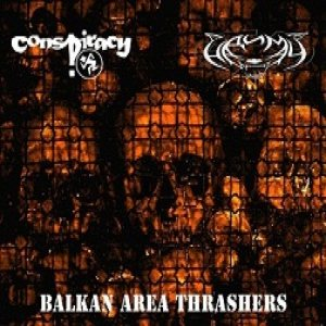 Conspiracy / Надимач - Balkan Area Thrashers cover art