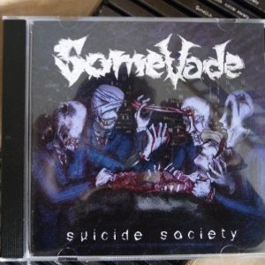 SomeVade - Suicide Society cover art