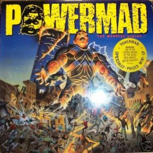 Powermad - The Madness Begins... cover art