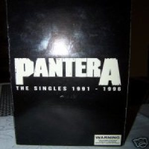 Pantera - The Singles 1991 - 1996 cover art