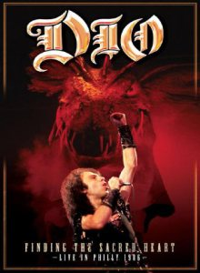 Dio - Finding the Sacred Heart - Live in Philly 1986 cover art