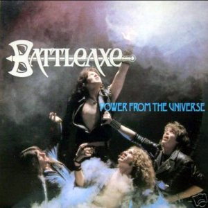 Battleaxe - Power from the Universe cover art