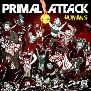 Primal Attack - Humans cover art